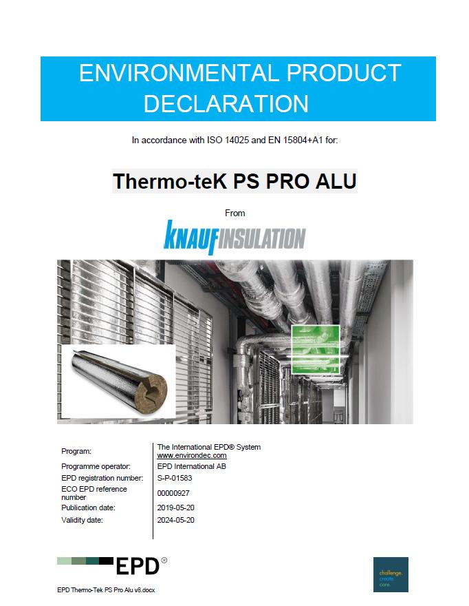 EPD Thermo-teK PS Pro ALU